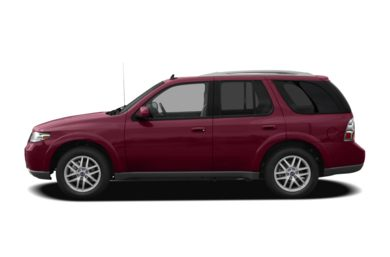 90 Degree Profile 2008 Saab 9-7X