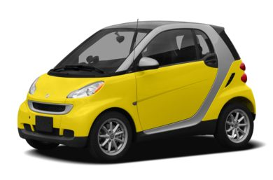 3/4 Front Glamour 2008 smart fortwo