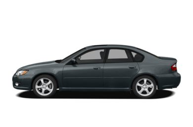 90 Degree Profile 2008 Subaru Legacy