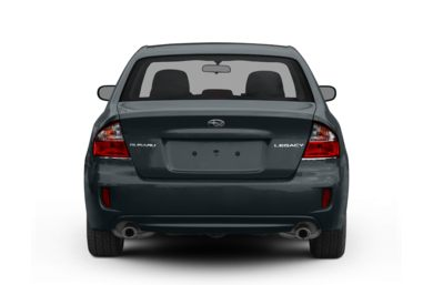 Rear Profile  2008 Subaru Legacy