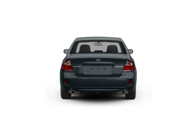 Surround Rear Profile 2008 Subaru Legacy