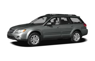 3/4 Front Glamour 2008 Subaru Outback