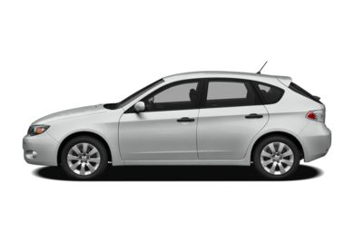 90 Degree Profile 2008 Subaru Impreza
