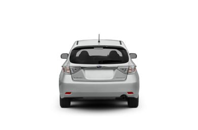 Surround Rear Profile 2008 Subaru Impreza