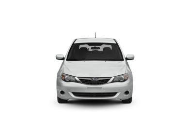 Surround Front Profile  2008 Subaru Impreza