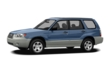 3/4 Front Glamour 2008 Subaru Forester