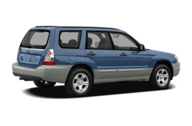 3/4 Rear Glamour  2008 Subaru Forester