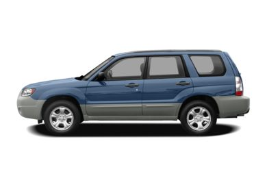 90 Degree Profile 2008 Subaru Forester