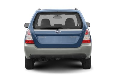 Rear Profile  2008 Subaru Forester