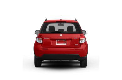 Surround Rear Profile 2008 Suzuki SX4