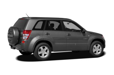 3/4 Rear Glamour  2008 Suzuki Grand Vitara