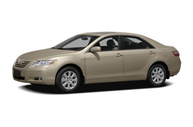 3/4 Front Glamour 2008 Toyota Camry