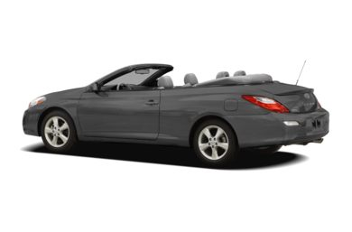 Surround 3/4 Rear - Drivers Side  2008 Toyota Camry Solara