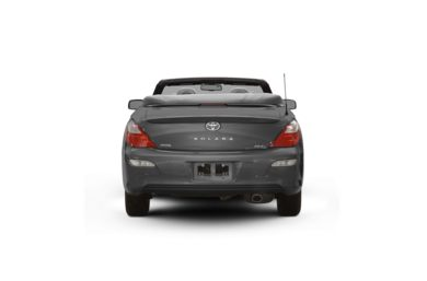 Surround Rear Profile 2008 Toyota Camry Solara