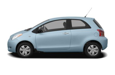 90 Degree Profile 2008 Toyota Yaris