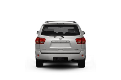 Surround Rear Profile 2008 Toyota Sequoia