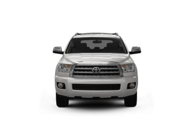 Surround Front Profile  2008 Toyota Sequoia