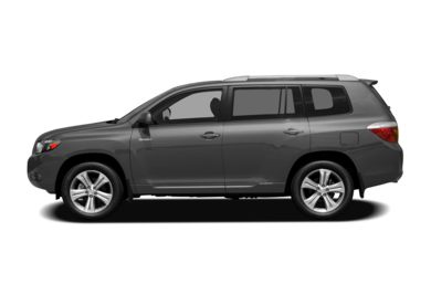 90 Degree Profile 2008 Toyota Highlander