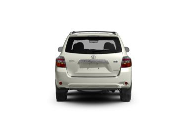 Surround Rear Profile 2008 Toyota Highlander Hybrid