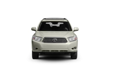 Surround Front Profile  2008 Toyota Highlander Hybrid