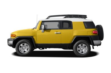 90 Degree Profile 2008 Toyota FJ Cruiser