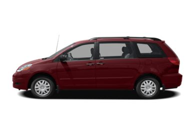90 Degree Profile 2008 Toyota Sienna