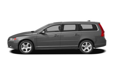 90 Degree Profile 2008 Volvo V70