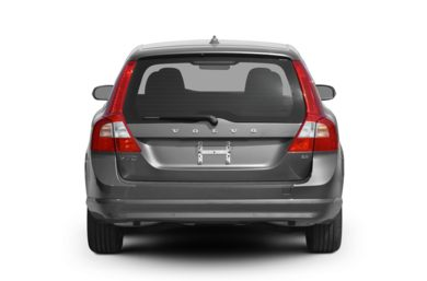 Rear Profile  2008 Volvo V70