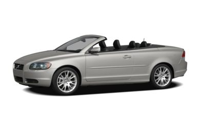 3/4 Front Glamour 2008 Volvo C70