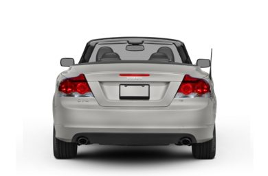 Rear Profile  2008 Volvo C70