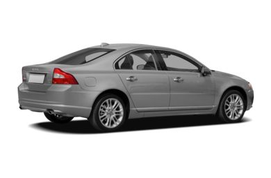 3/4 Rear Glamour  2008 Volvo S80