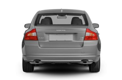 Rear Profile  2008 Volvo S80