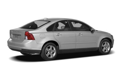 3/4 Rear Glamour  2008 Volvo S40