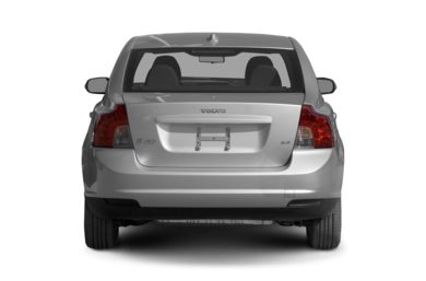 Rear Profile  2008 Volvo S40