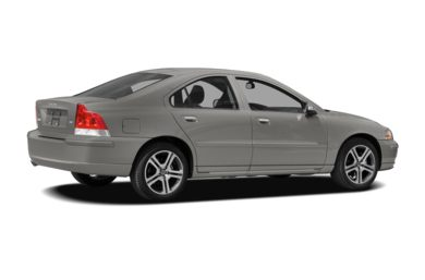 3/4 Rear Glamour  2008 Volvo S60