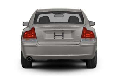 Rear Profile  2008 Volvo S60