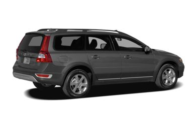 3/4 Rear Glamour  2008 Volvo XC70