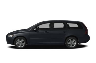 90 Degree Profile 2008 Volvo V50