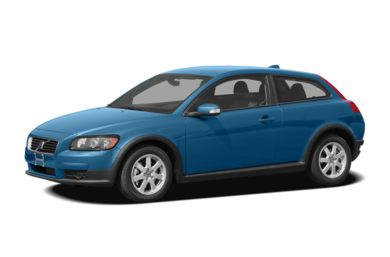 3/4 Front Glamour 2008 Volvo C30