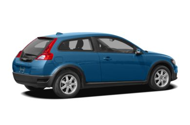 3/4 Rear Glamour  2008 Volvo C30