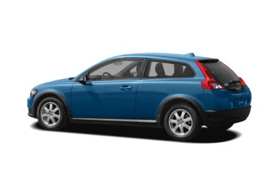 Surround 3/4 Rear - Drivers Side  2008 Volvo C30