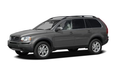 3/4 Front Glamour 2008 Volvo XC90