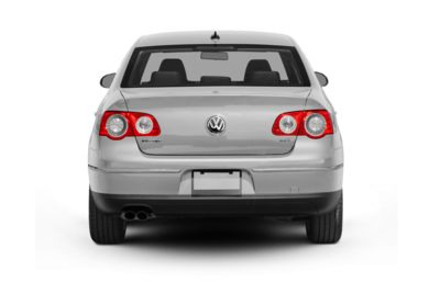Rear Profile  2008 Volkswagen Passat