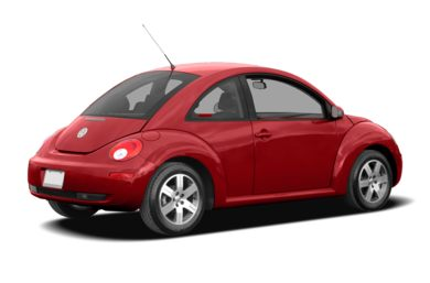 3/4 Rear Glamour  2008 Volkswagen New Beetle