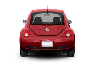 Rear Profile  2008 Volkswagen New Beetle
