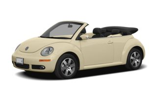 3/4 Front Glamour 2008 Volkswagen New Beetle
