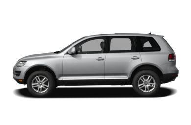 90 Degree Profile 2008 Volkswagen Touareg 2