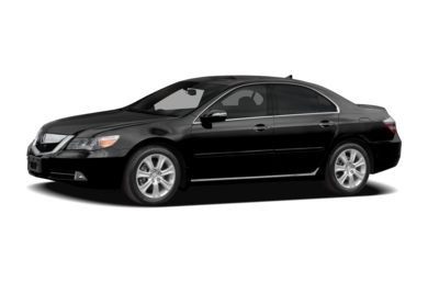 3/4 Front Glamour 2009 Acura RL