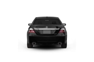 Surround Rear Profile 2009 Acura RL