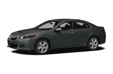 3/4 Front Glamour 2009 Acura TSX